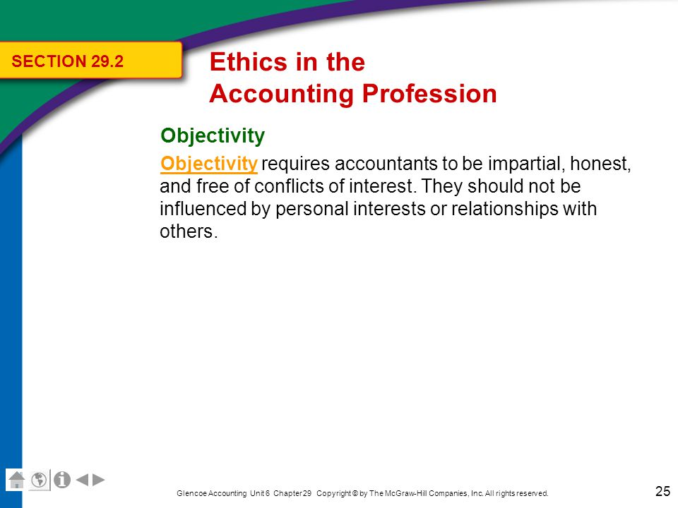 Ethics in the Accounting Profession