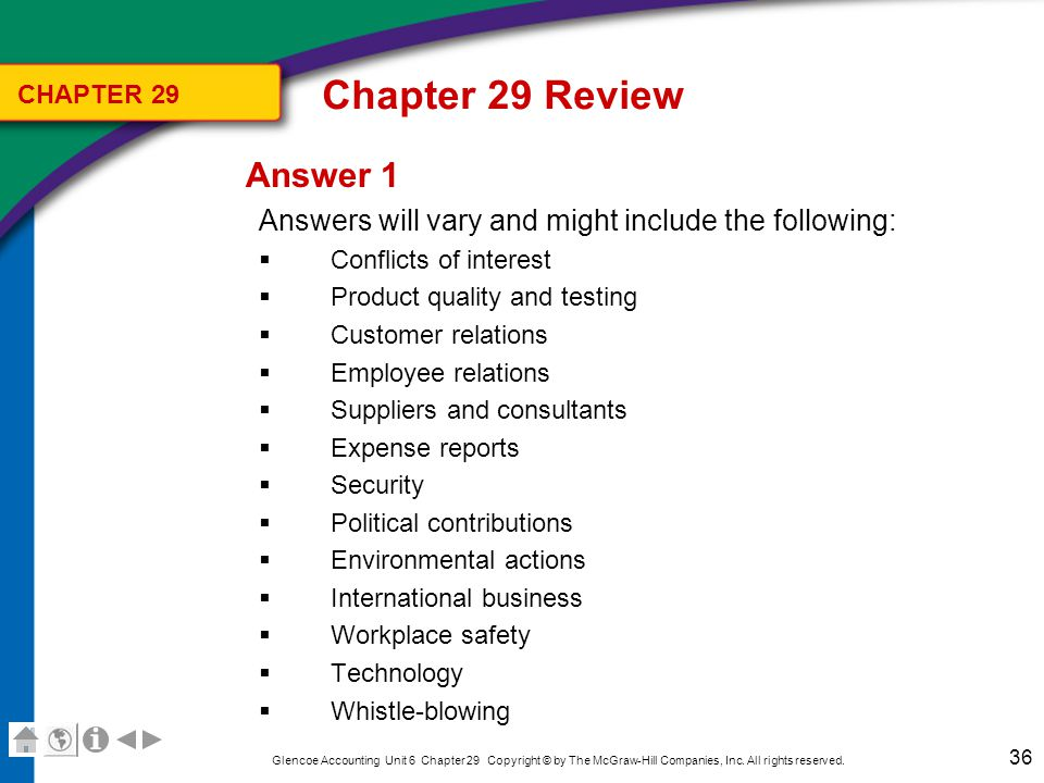 Chapter 29 Review Question 2