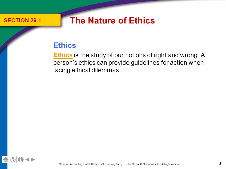 The Nature of Ethics How Are Business Ethics Determined
