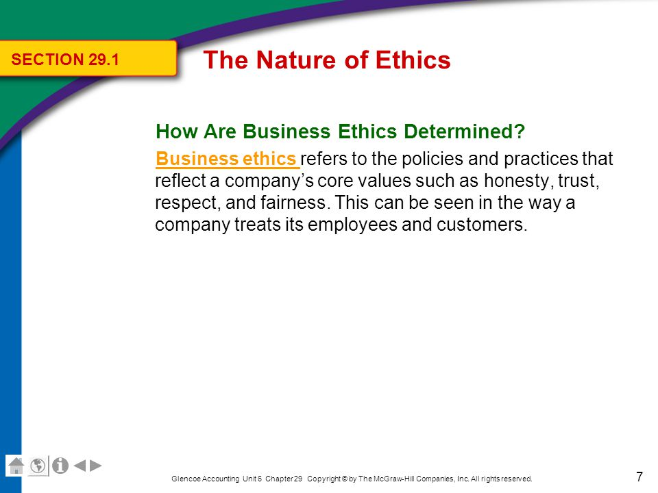 The Nature of Ethics The Law As a Guide