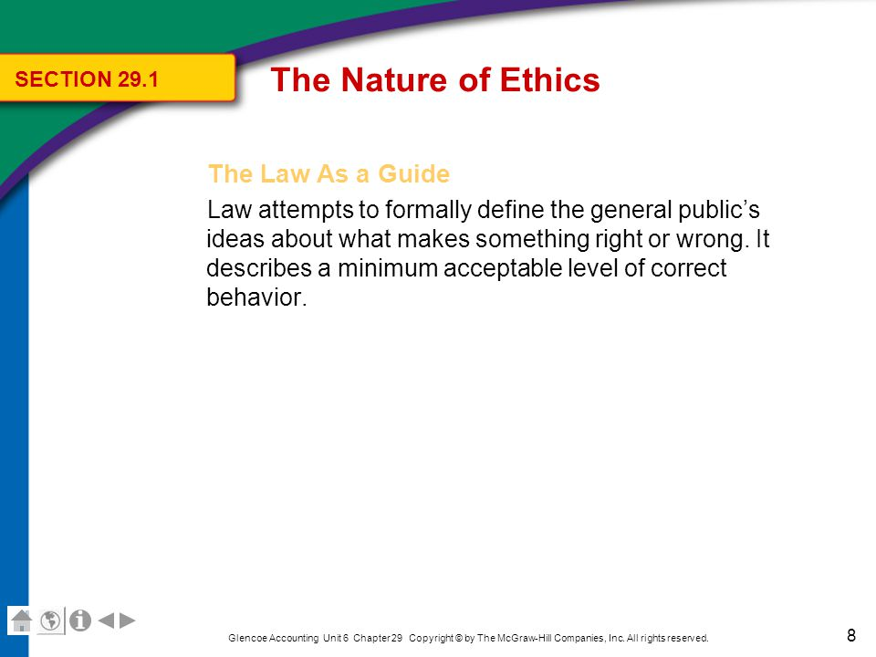 The Nature of Ethics Statements of Company Values