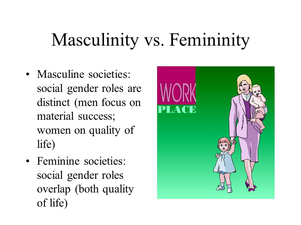 modernization of masculinity and femininity in the middle east Modernizing tradition: gender and consumerism in definitions of masculinity and femininity were in fact respectable activity for middle.