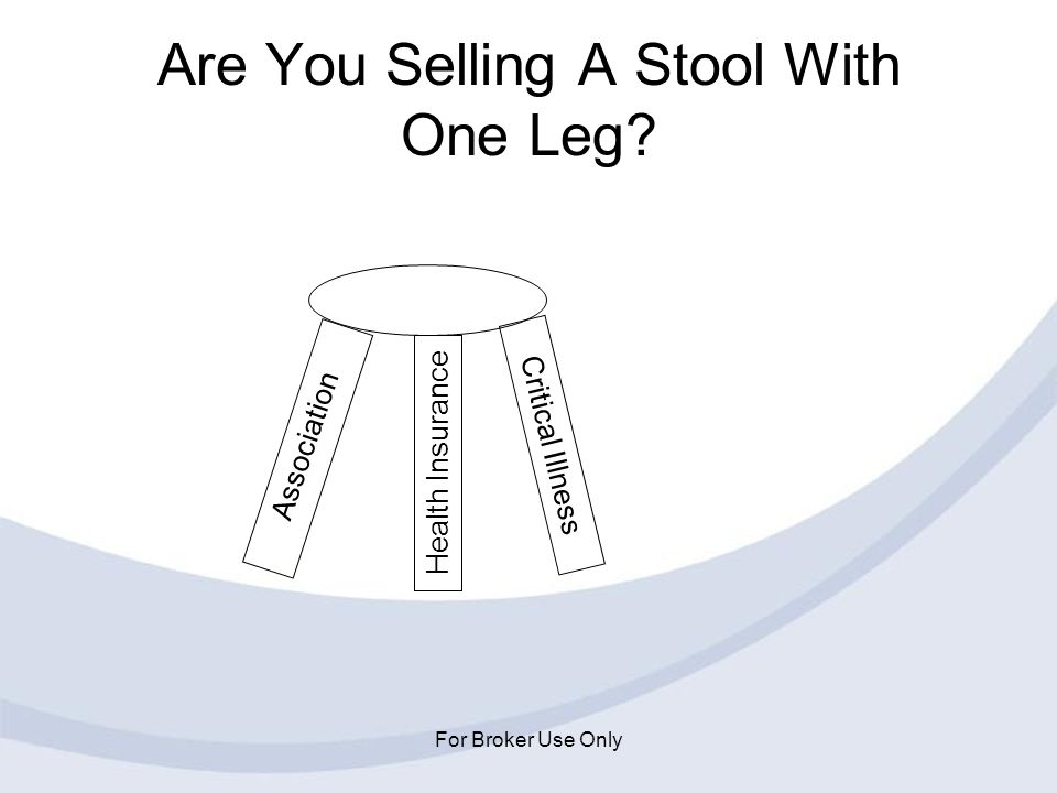 Are You Selling A Stool With One Leg