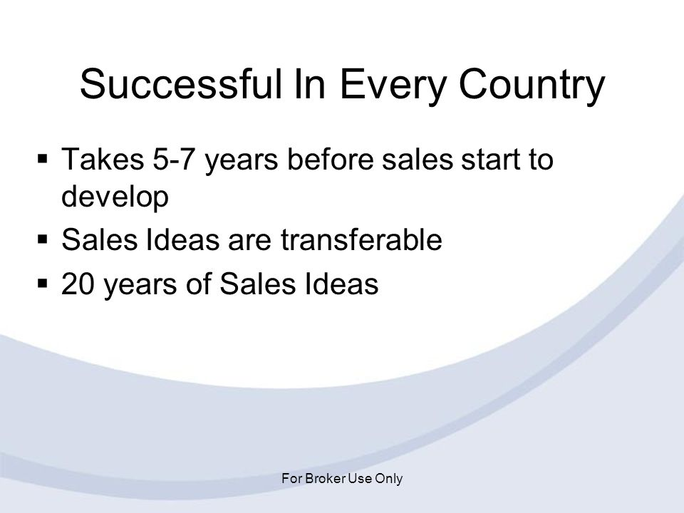 Successful In Every Country