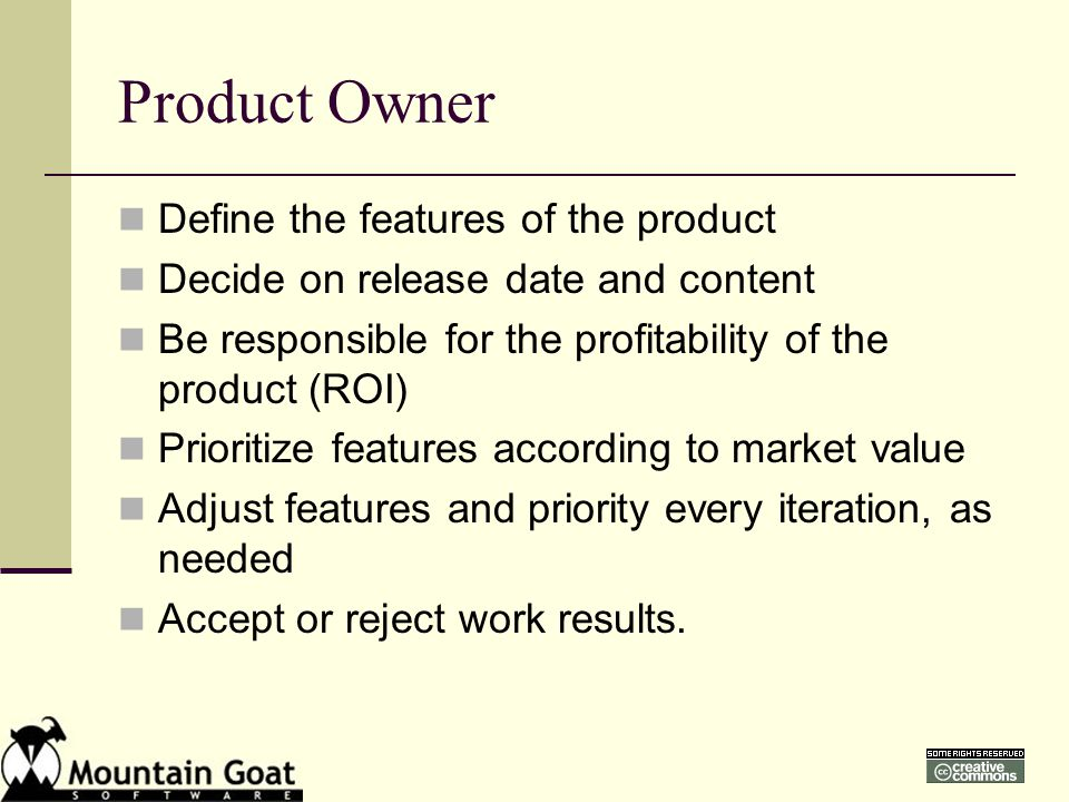 product owner images