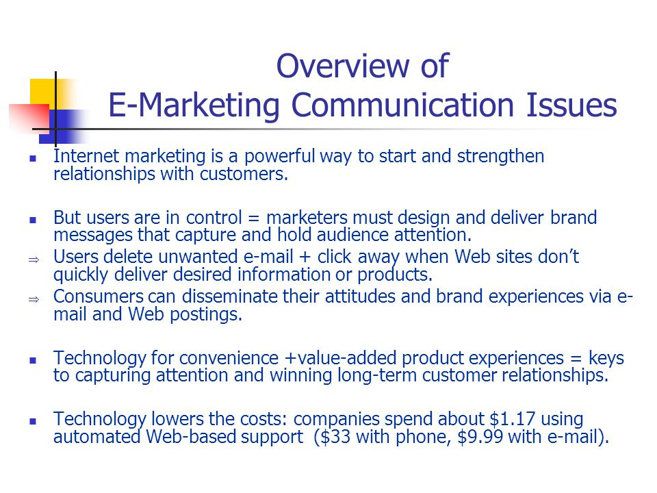 a brief overview of impersonal marketing communications Integrated marketing communications integrateg marketing communication overview of eight steps to effective.