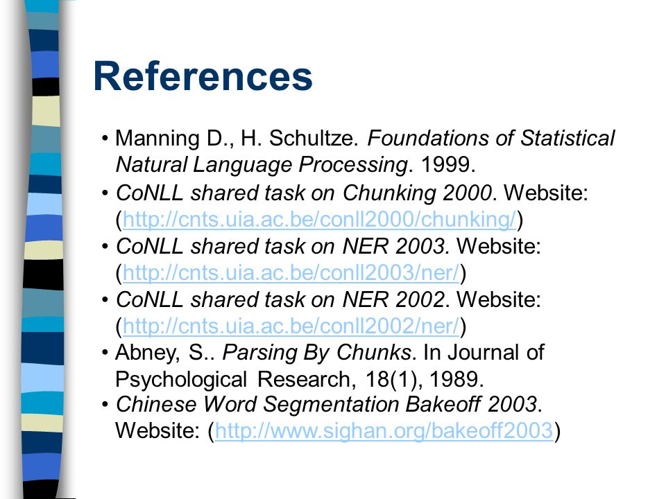 foundations of statistical natural language processing pdf