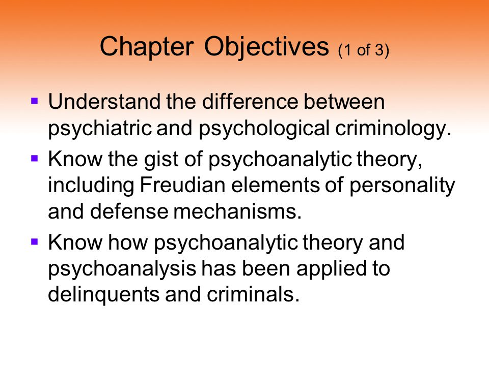 Chapter Objectives (1 of 3)