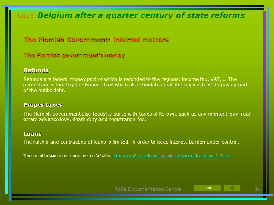 The political system in belgium ppt download for Dutch real estate websites