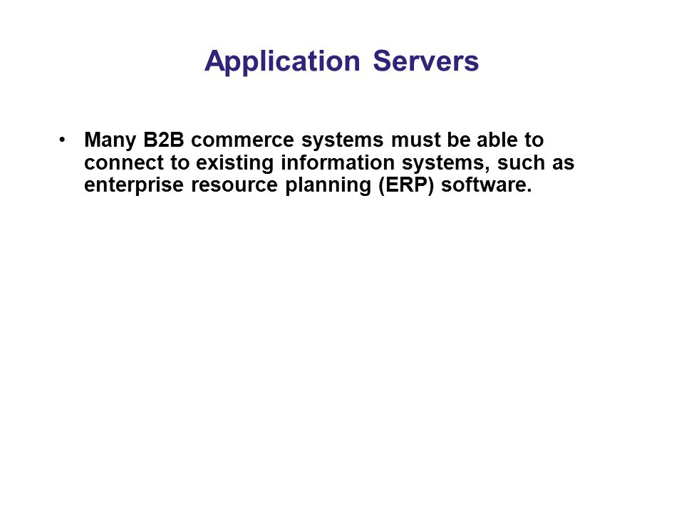 Application Servers