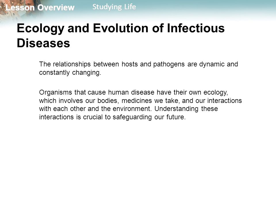 the evolution of infectious disease in Early history of infectious disease r1 treatment), he proposed the revolutionary theory that infectious diseases were transmitted from person to person by minute.