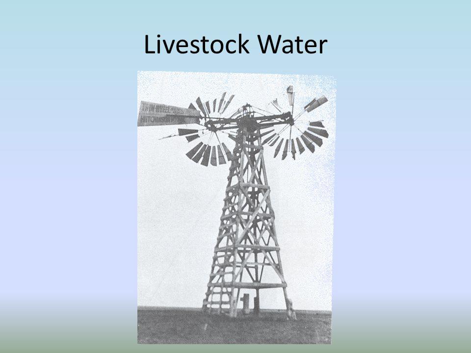 Livestock Water Power Match Storage Match Wind Statistics OK