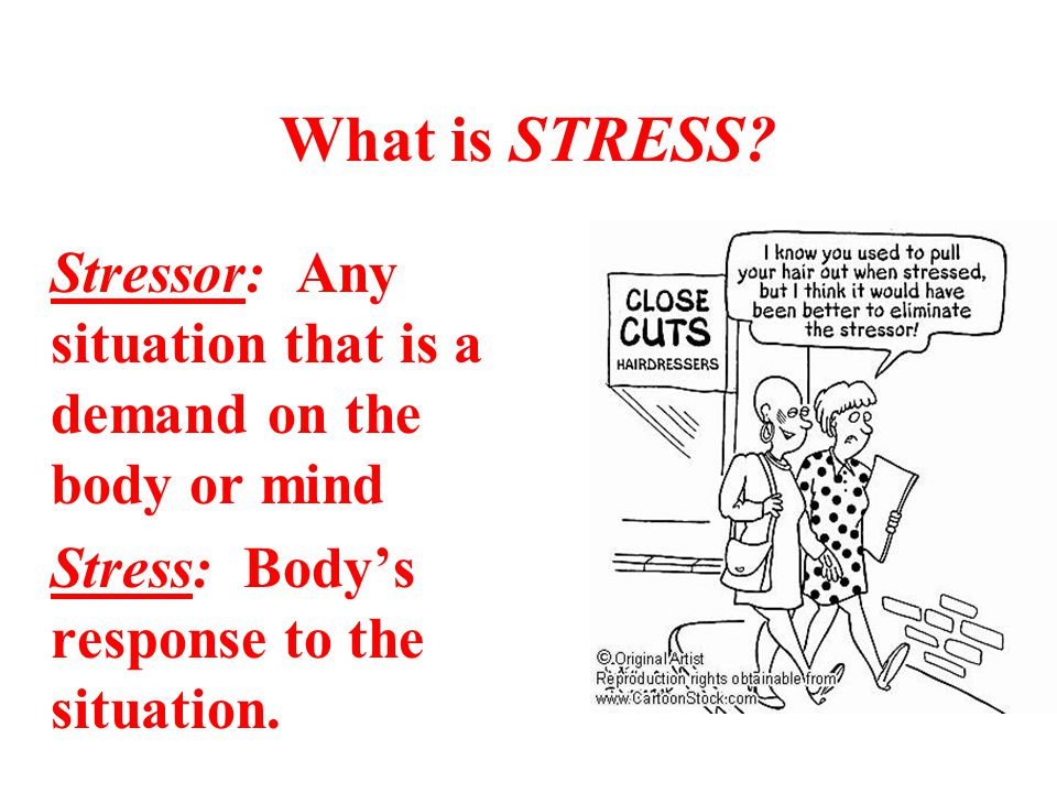 What is STRESS.