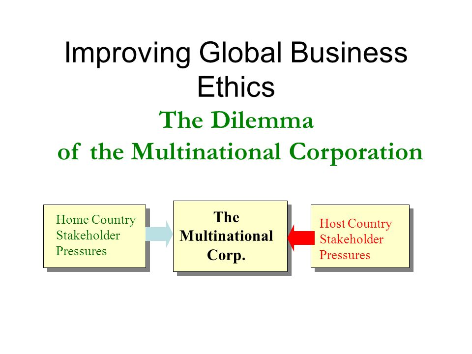 business ethic issues in developing countries Business culture' in developed countries than in developing countries  i have  addressed these issues as well as moral decision-making amidst moral.