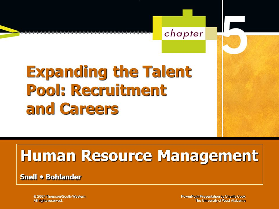 human resource management by bohlander philippine Philippine beer industry faculty of the department of human resource development & management bohlander, 2010, principles of human resource.