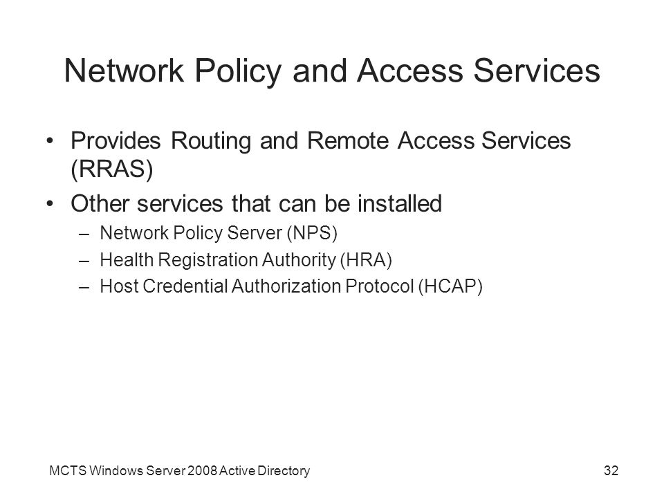 network policy server and remote access essay Enterprise security best practices  for protecting your network do you provide secure remote access with strong  a local standby server or a remote server to.
