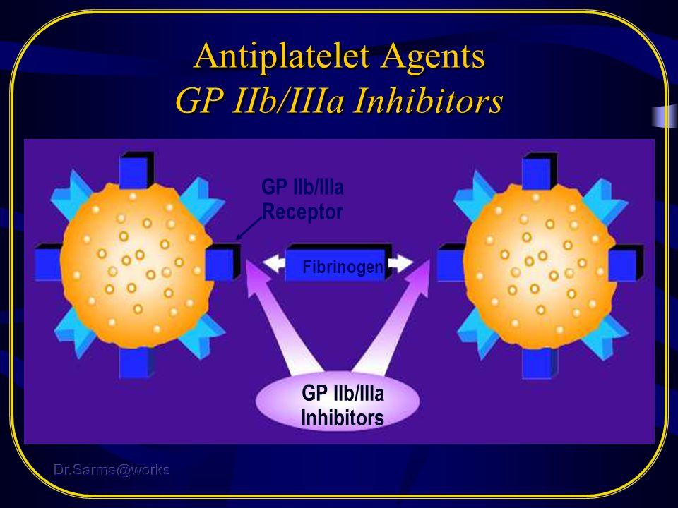 Antiplatelet Agents GP IIb/IIIa Inhibitors