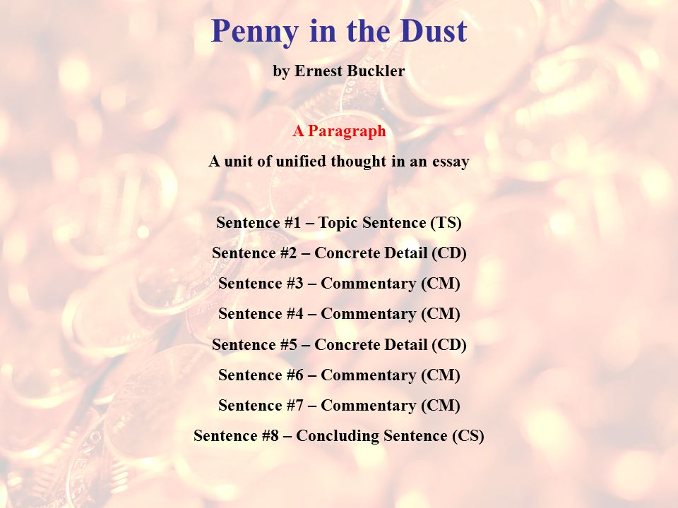 penny in the dust by ernest buckler essay Some lesser known poets of this same genre were william ernest henley's 1920's english sonnet with rhyme abab,cdcd,efef,gg the barmaid: though, if you from penny novels to amend her taste this was a popular theme for victorians both christina rossetti (poem) and oscar wilde (essay) wrote on this same title.