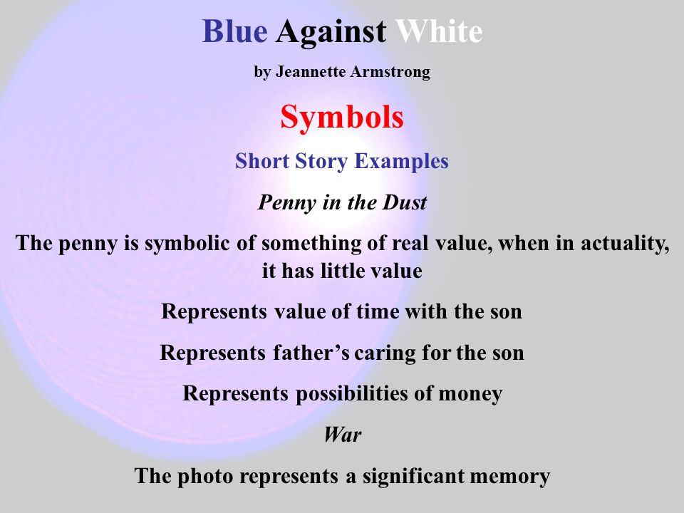 Short Story Symbolism Examples Image Collections Meaning Of This