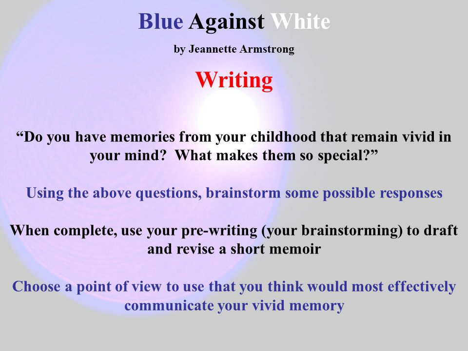 blue against white armstrong Blue against white author: jeannette c armstrong '' all the houses on that part of the reserve looked a lot alike, the colours ranging mostly white to off-white to grey, and a few with light pastel colours.