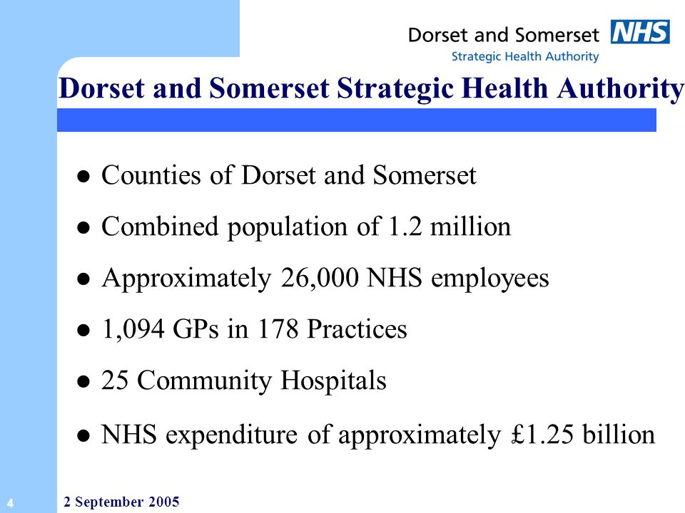 Dorset and Somerset Strategic Health Authority