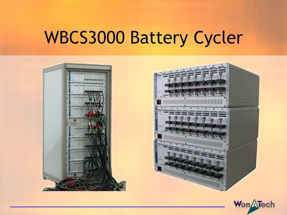WBCS3000 Battery Cycler