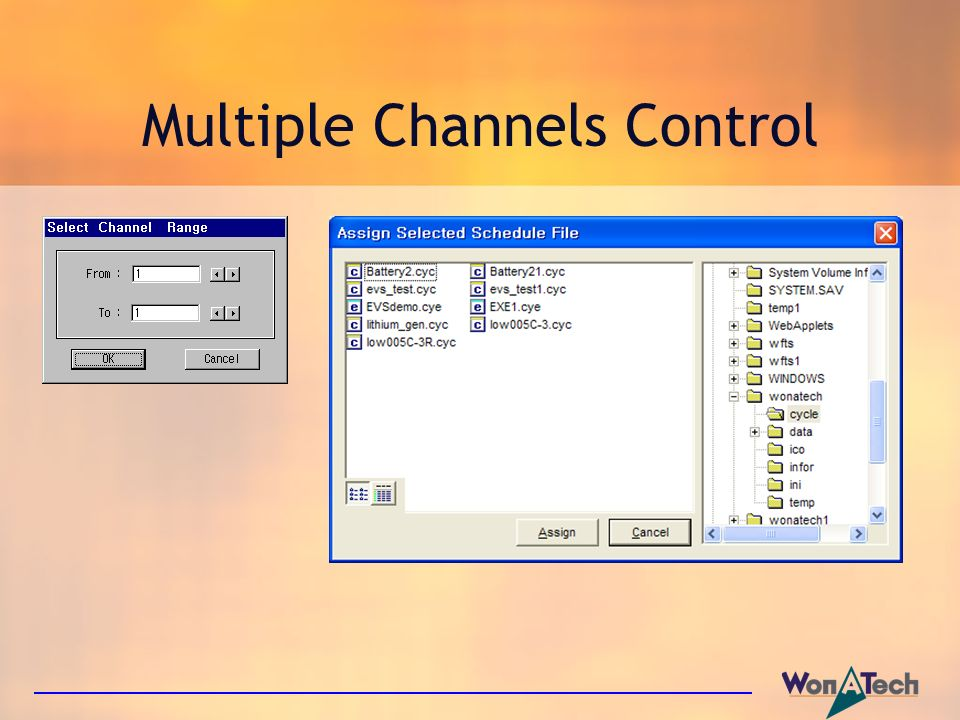 Multiple Channels Control