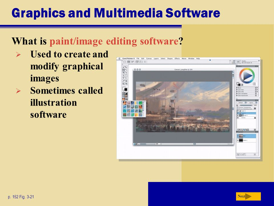 Chapter 3 application software ppt video online download for Art editing software