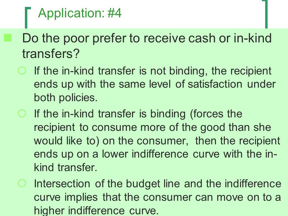 Do the poor prefer to receive cash or in-kind transfers