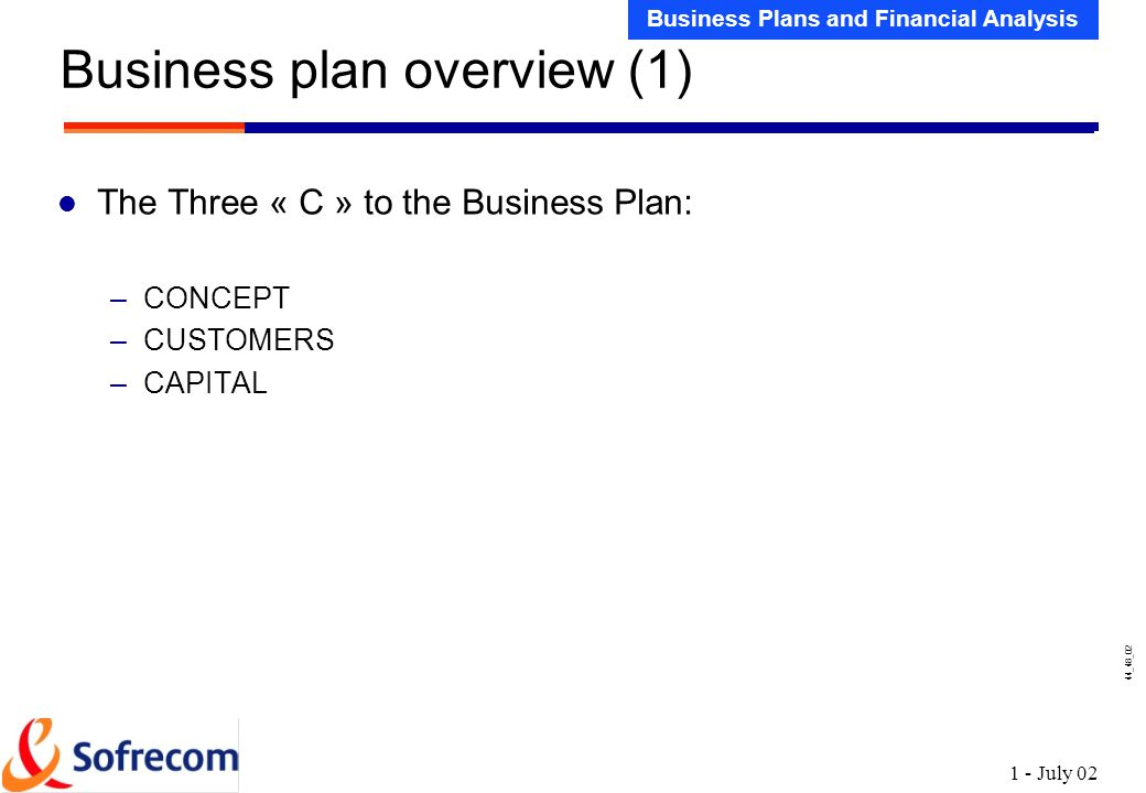 Sample Business Plans