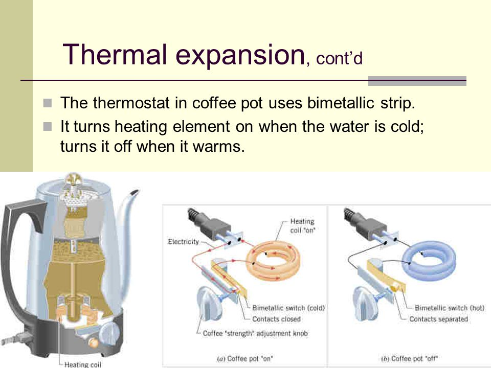 thermal expansion how to get diamonds