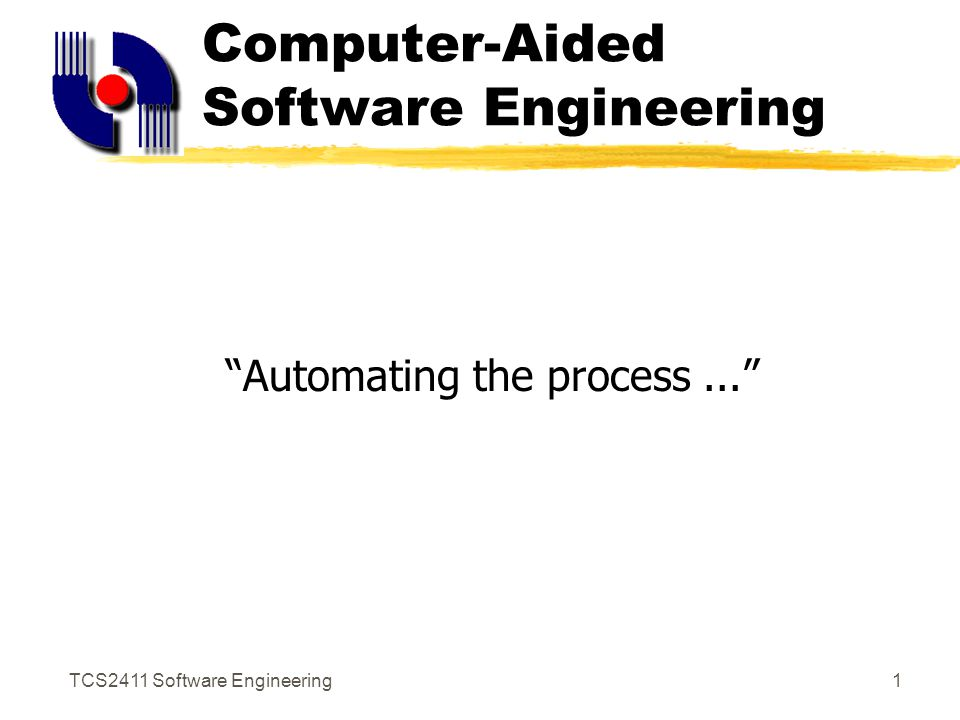 Computer-Aided Software Engine...