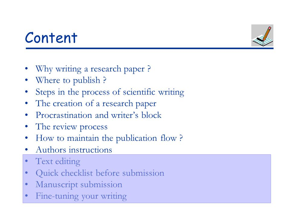scientific paper writing style Writing a scientific text in microsoft word style sheet this ms word guide focuses on items which are useful when writing a scientific paper, report or.