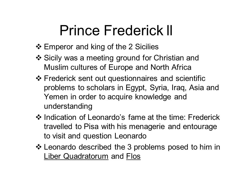 prince frederick muslim personals A gallery of famous intact men 5 non-us celebrities 1 this page is almost unnecessary almost any non-us celebrity, born outside the middle east, is.