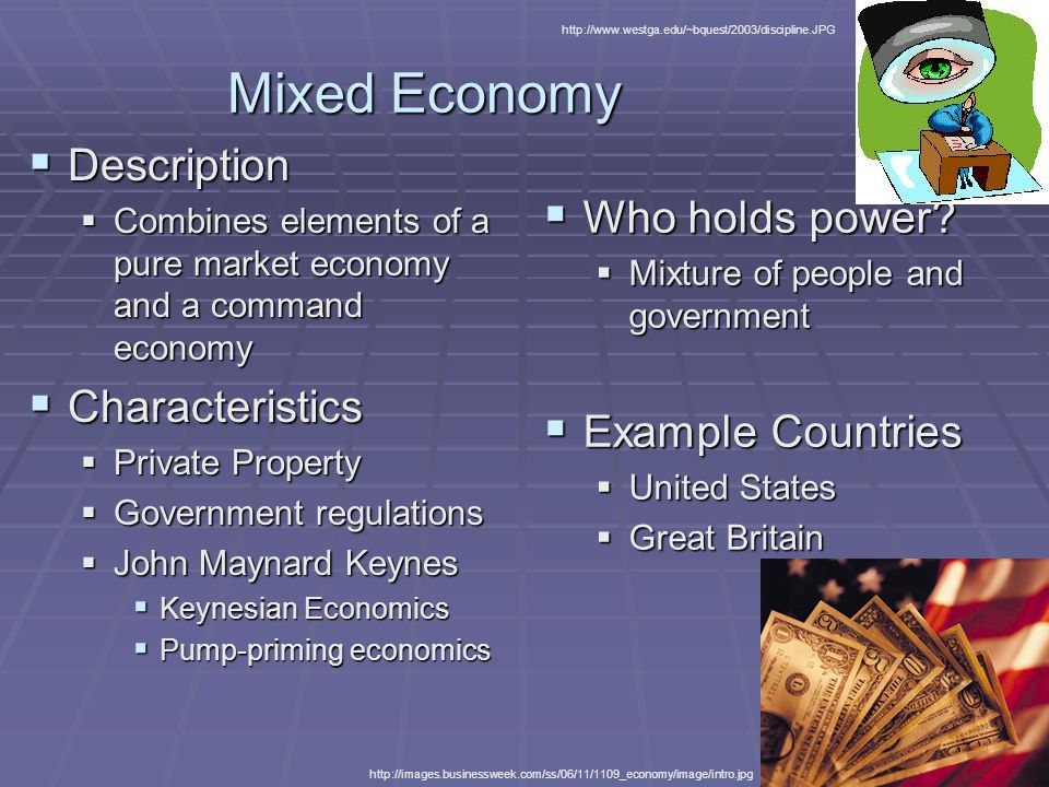 example mixed economy Definition, features and examples of mixed economies evaluation of advantages  and disadvantages of allowing government to manage part of.