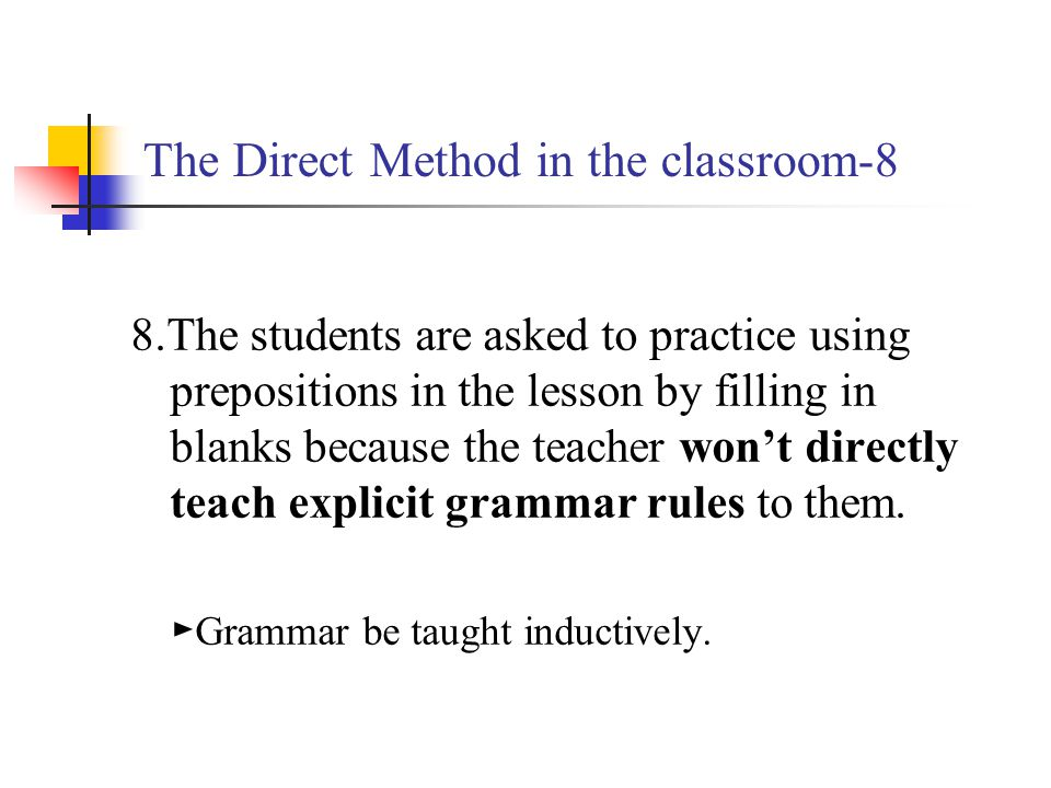 The Direct Method in the classroom-8
