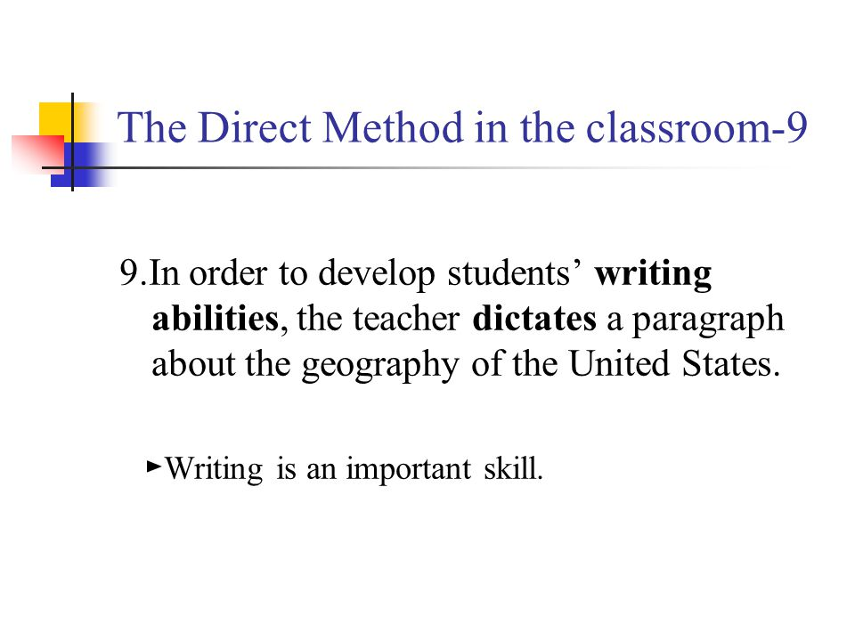 The Direct Method in the classroom-9