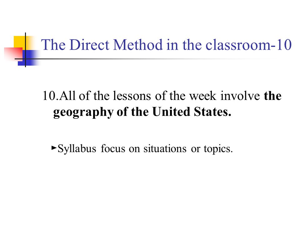 The Direct Method in the classroom-10
