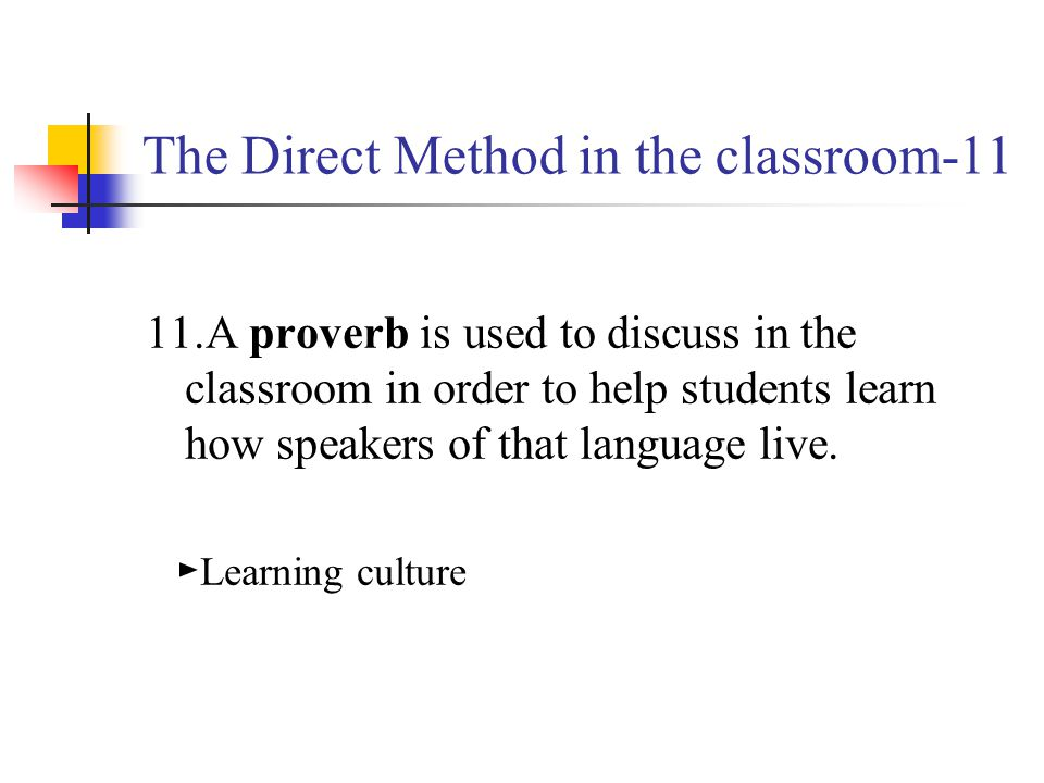 The Direct Method in the classroom-11