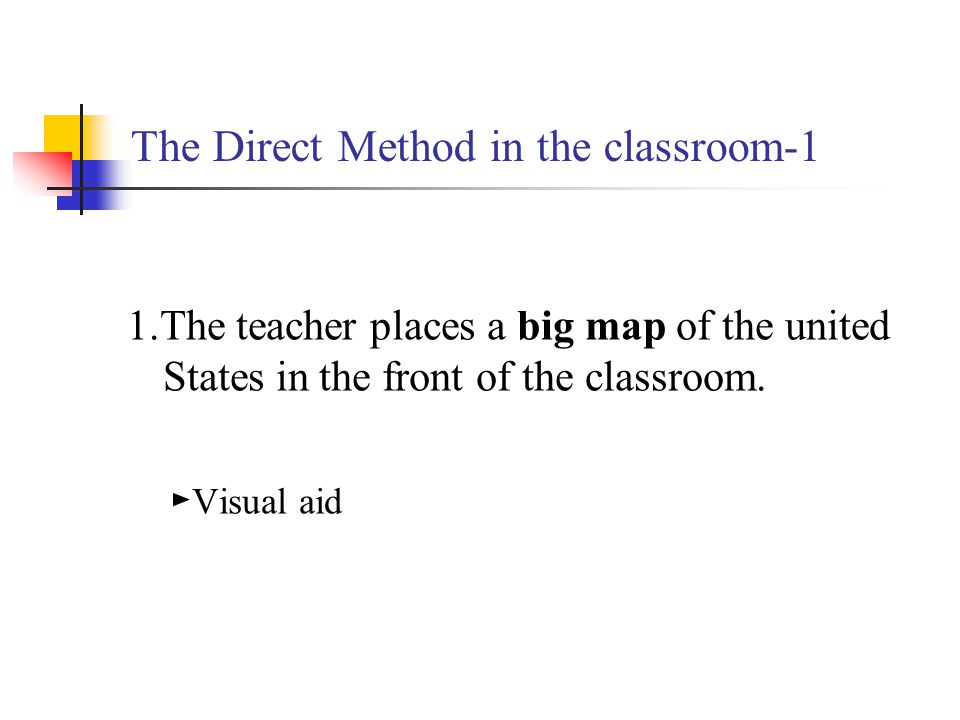 The Direct Method in the classroom-1