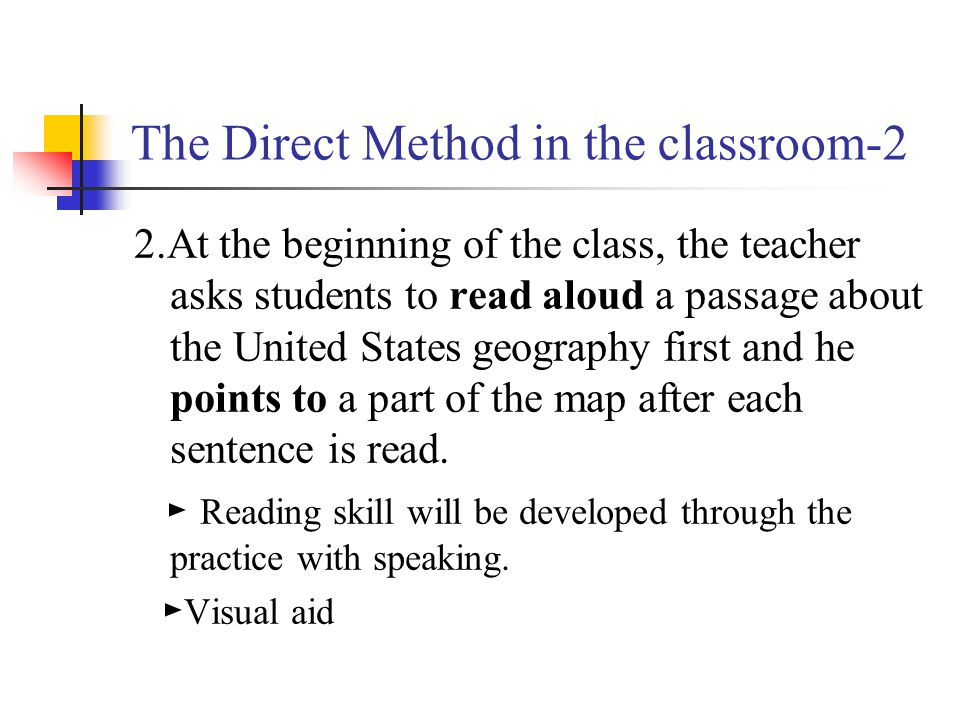 The Direct Method in the classroom-2