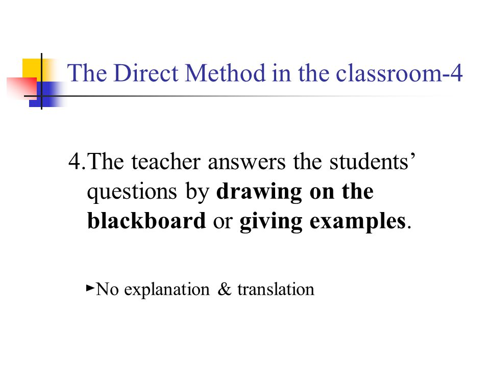 The Direct Method in the classroom-4