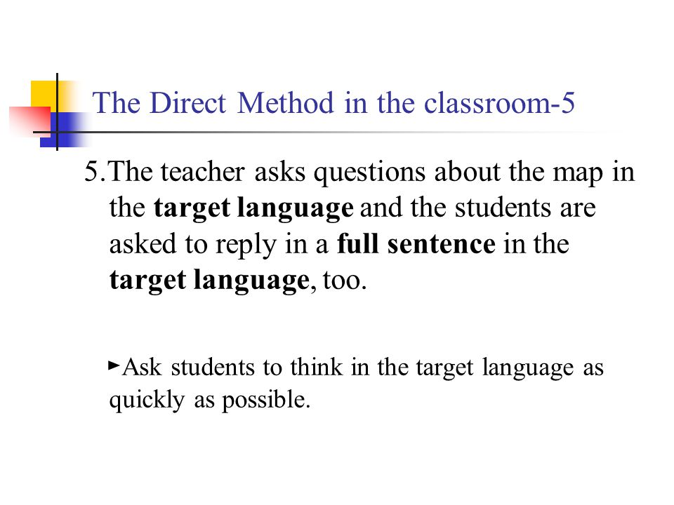 The Direct Method in the classroom-5
