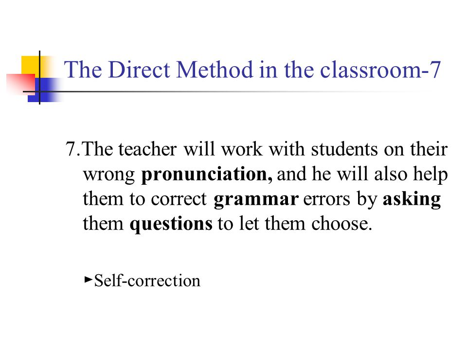 The Direct Method in the classroom-7
