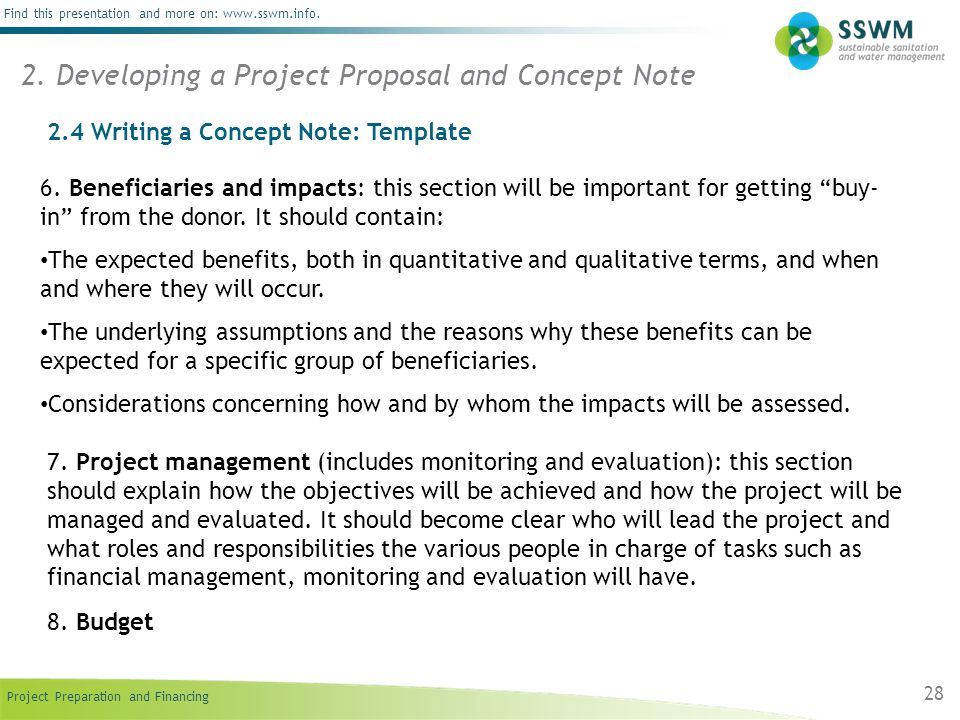 developing a project proposal on a The real estate land development proposal is one of many sample business proposals included with proposal pack proposal templates and proposal software products.