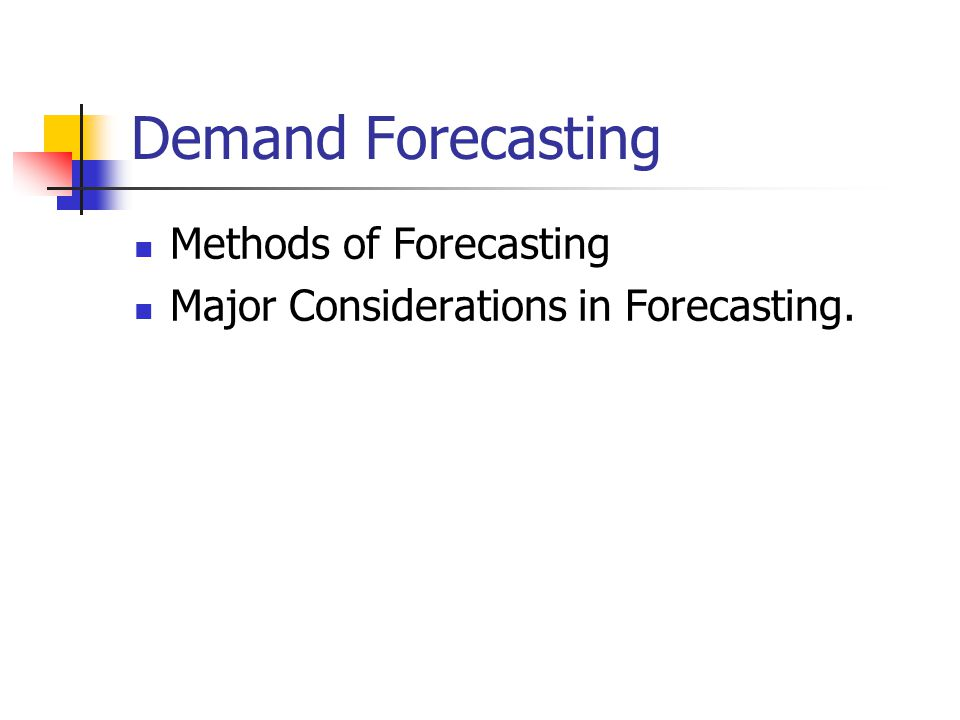 Human resource demand forecasting ppt | Essay Example