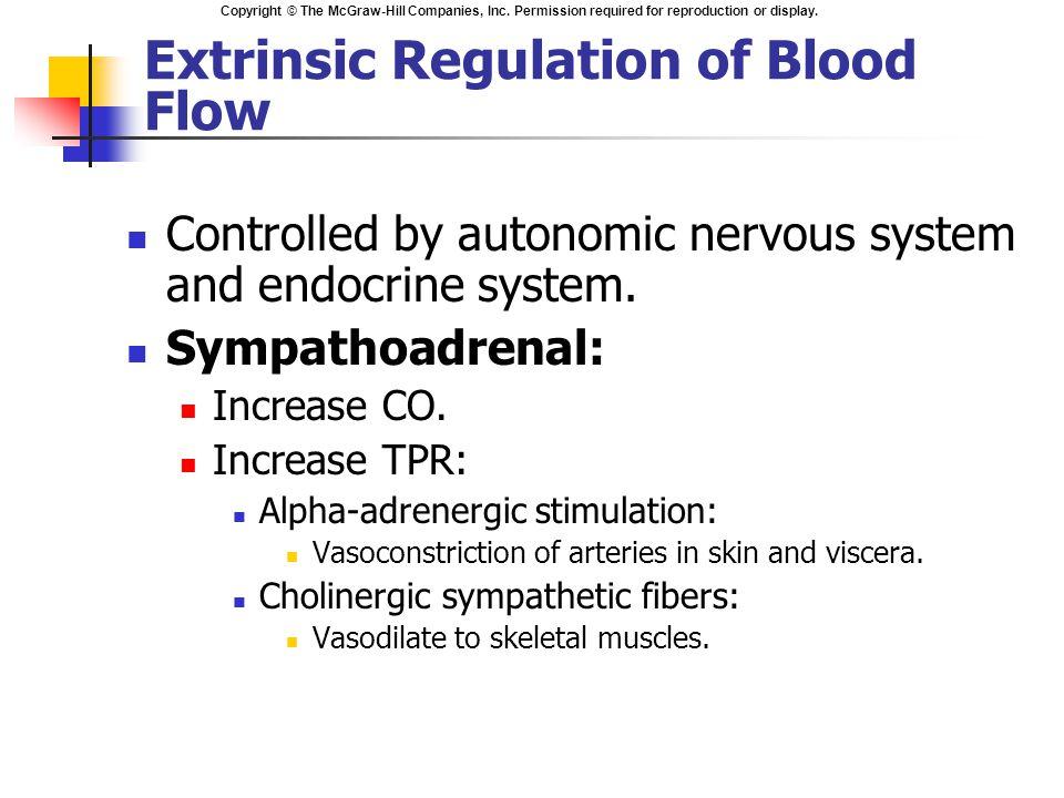 Regulation of peripheral blood flow in Complex Regional ...