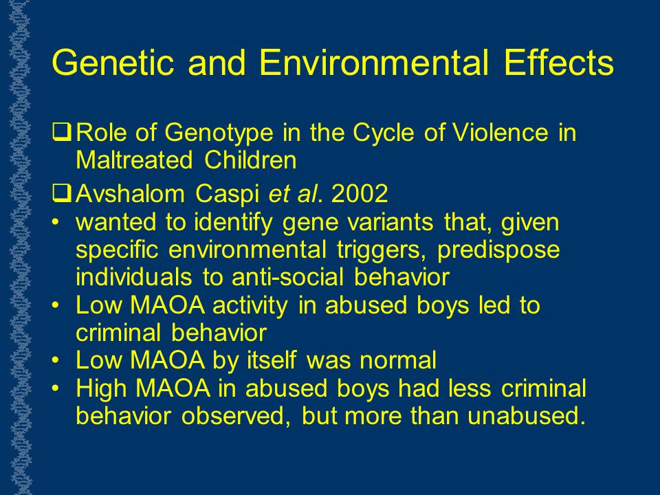 criminal behavior of children In case of parental divorce, however, children are likely to be less exposed to  their father's criminal behavior, since children usually stay with.
