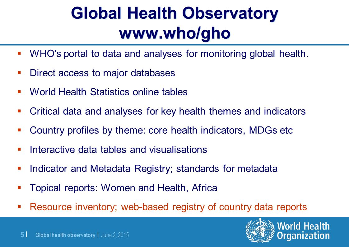 Colin Mathers World Statistics Day, 20 October ppt video online download