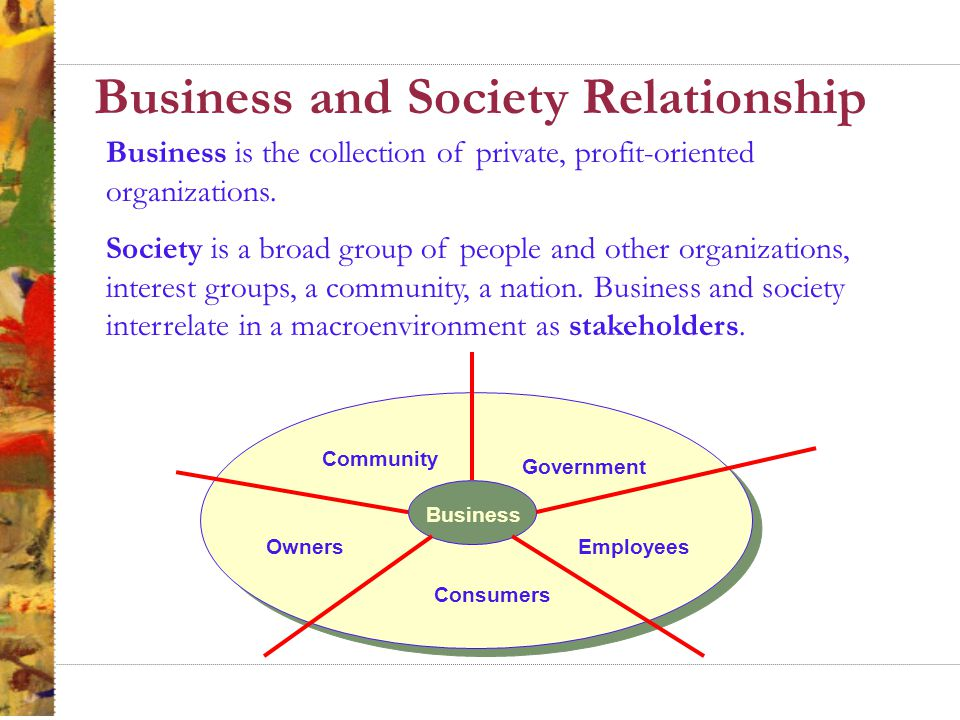 "business and society ""i am concerned about a society that has demonstrably lost confidence in its institutions—in the government, in the press, in the church, in the military—as well as in business"" 1."